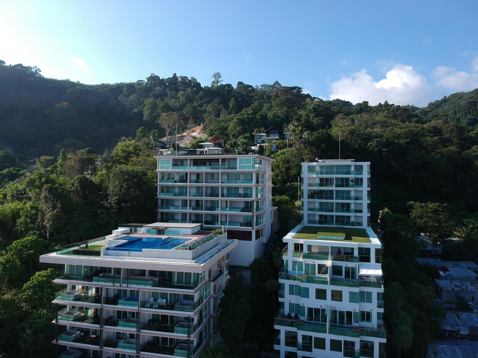 Apartment Privilege12 - Seaview 3 bedroom luxury apartment on Kalim bay photo 18648030