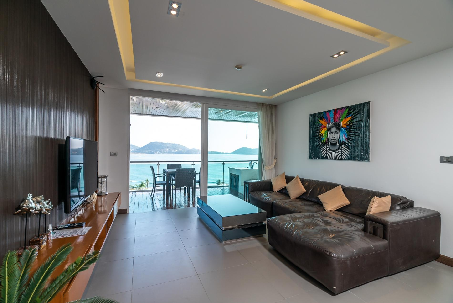 Apartment Privilege12 - Seaview 3 bedroom luxury apartment on Kalim bay photo 20384393