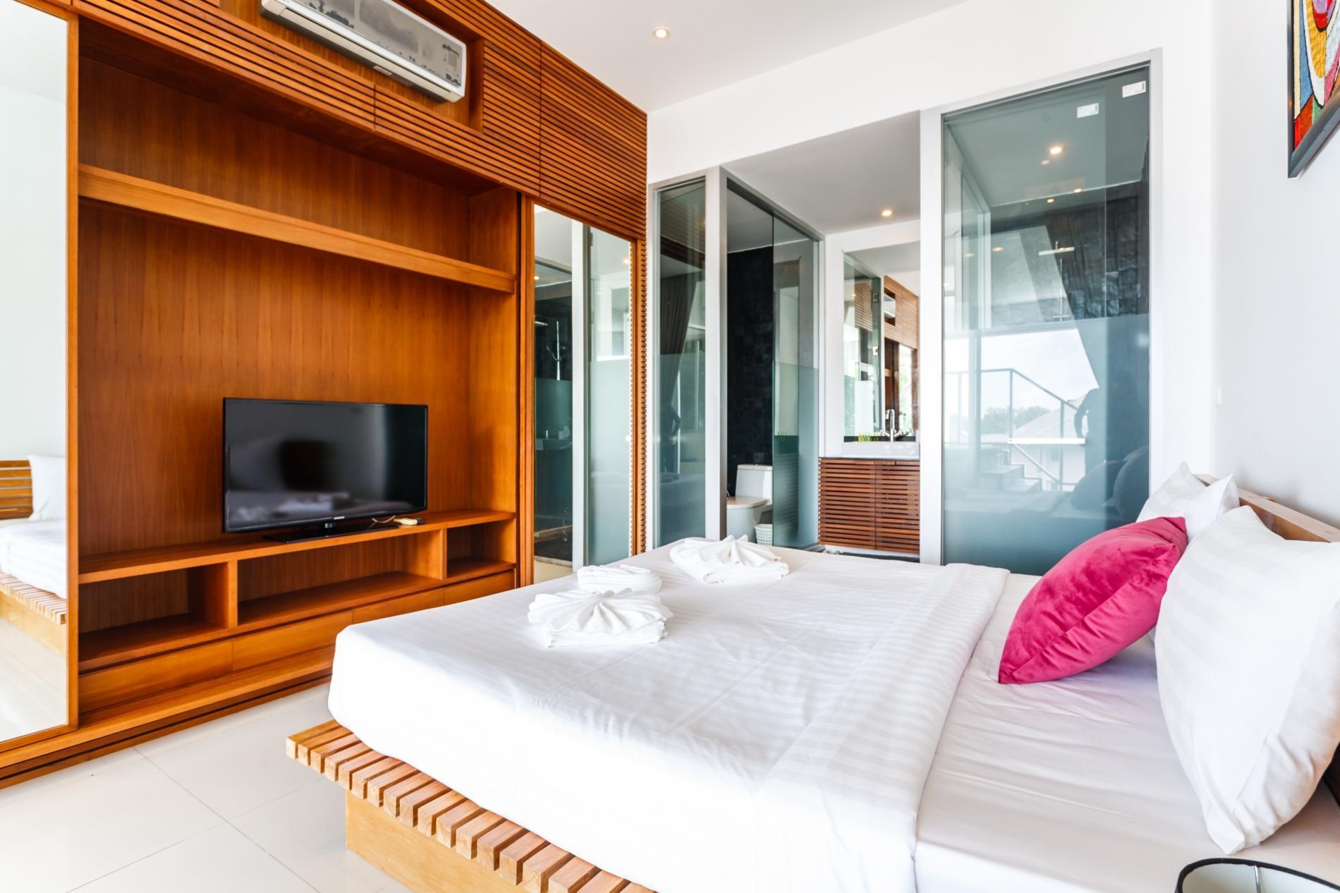 Apartment The Quarter 301 - Luxury Surin 3 bedroom apartment private pool photo 20401874