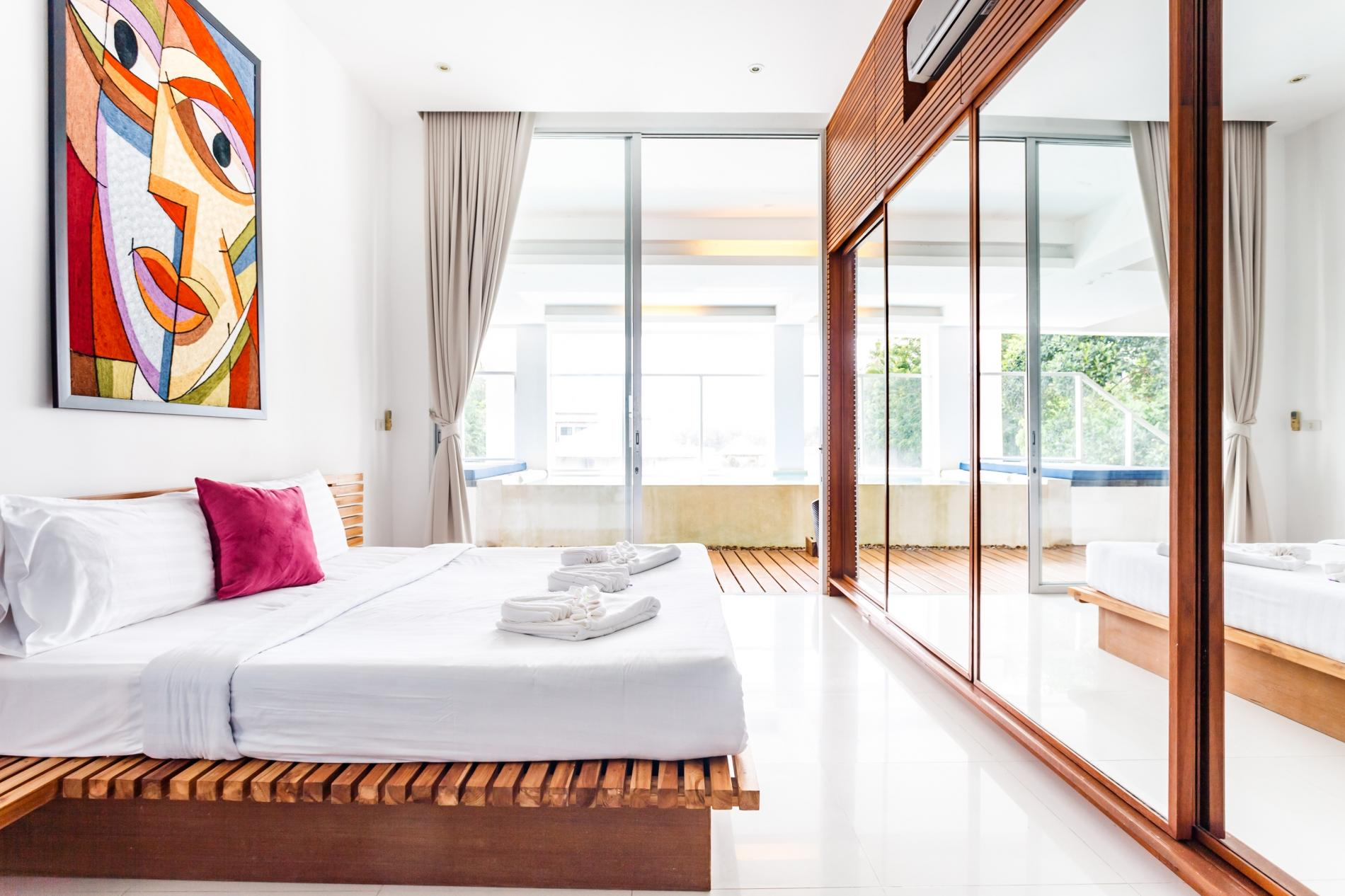 Apartment The Quarter 301 - Luxury Surin 3 bedroom apartment private pool photo 20318468