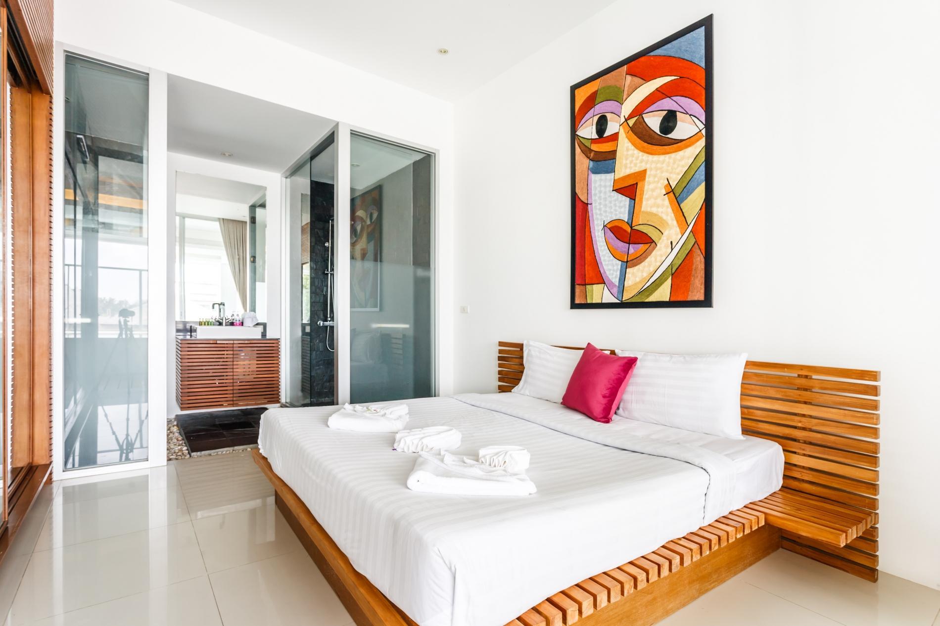Apartment The Quarter 301 - Luxury Surin 3 bedroom apartment private pool photo 20339844