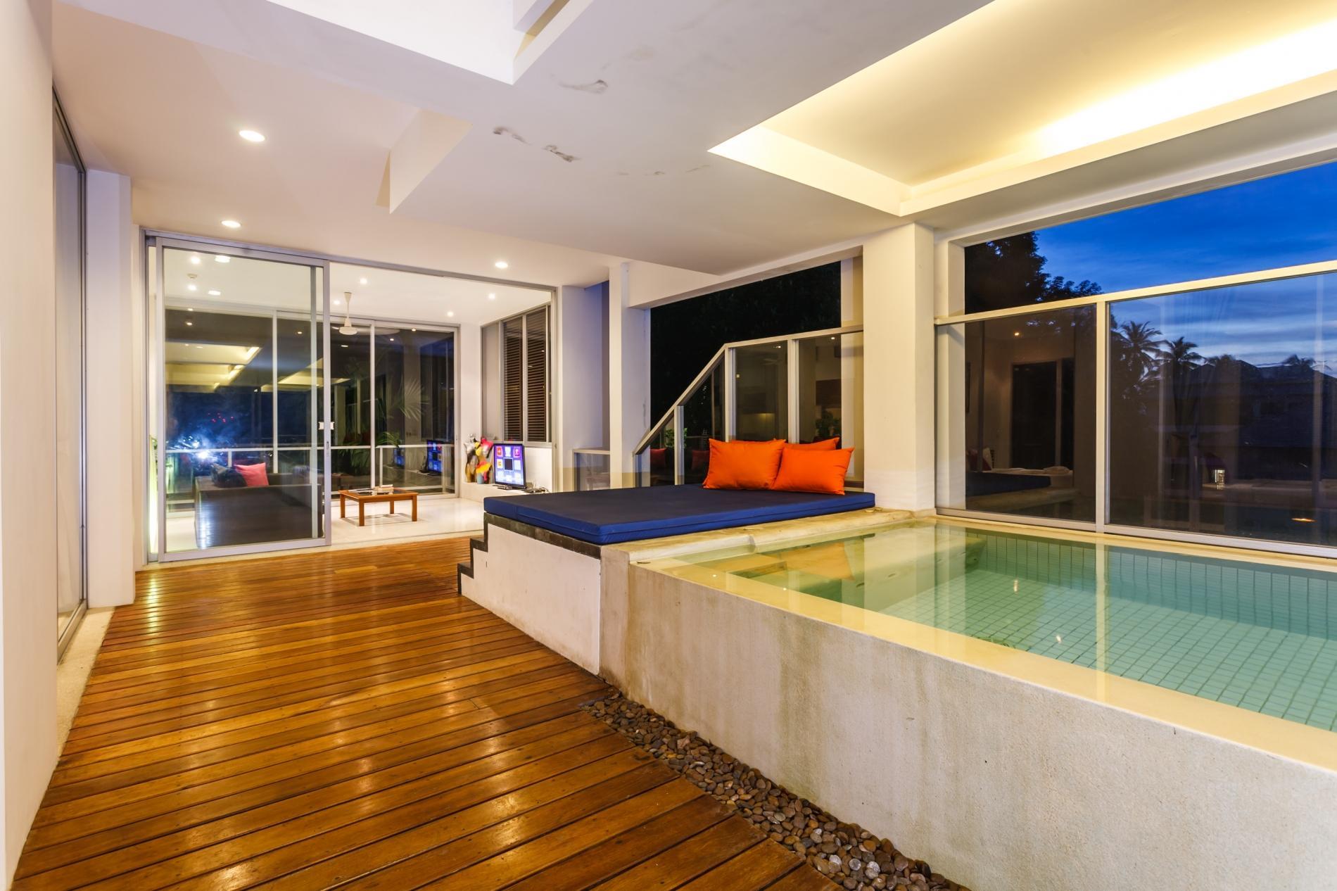 Apartment The Quarter 301 - Luxury Surin 3 bedroom apartment private pool photo 20176510