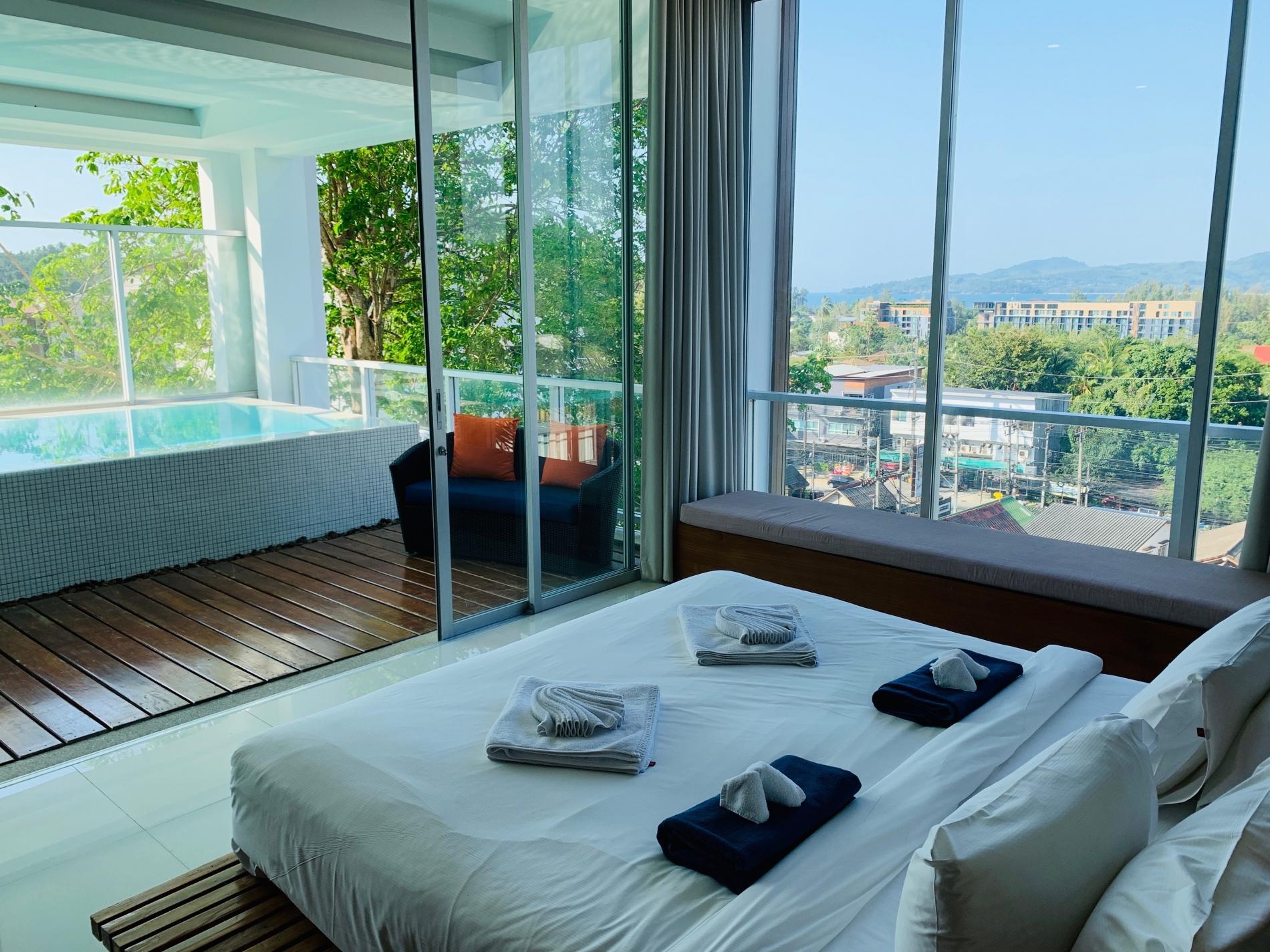 Apartment The Quarter 301 - Luxury Surin 3 bedroom apartment private pool photo 26108703