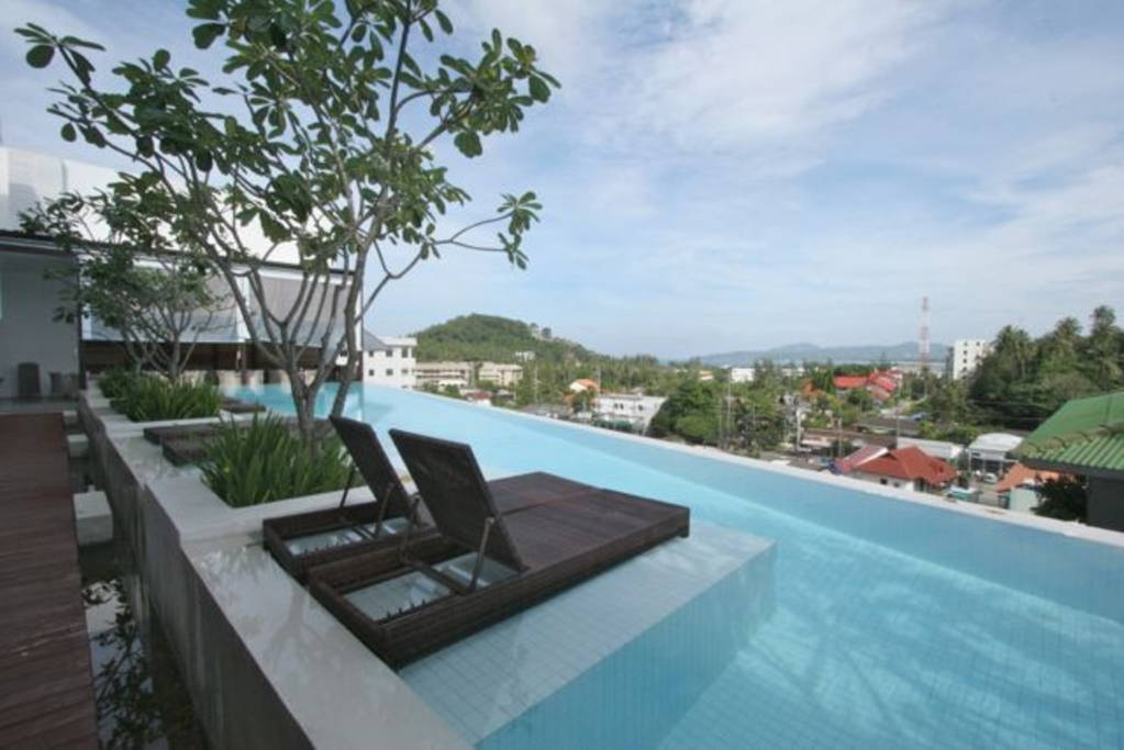 Apartment The Quarter 408 - Seaview Duplex in Surin with patio and shared pool photo 16861357