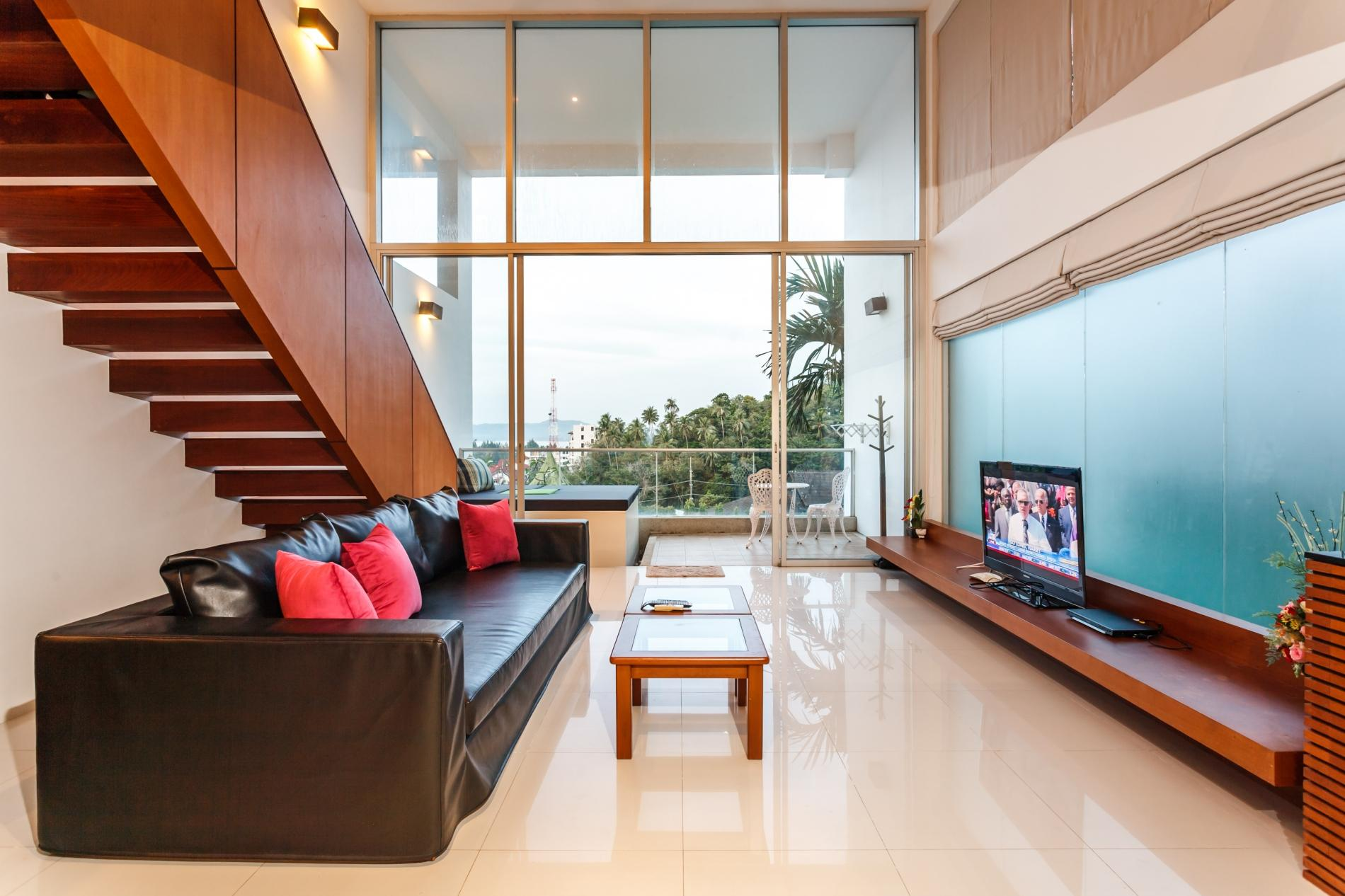 Apartment The Quarter 408 - Seaview Duplex in Surin with patio and shared pool photo 17052769