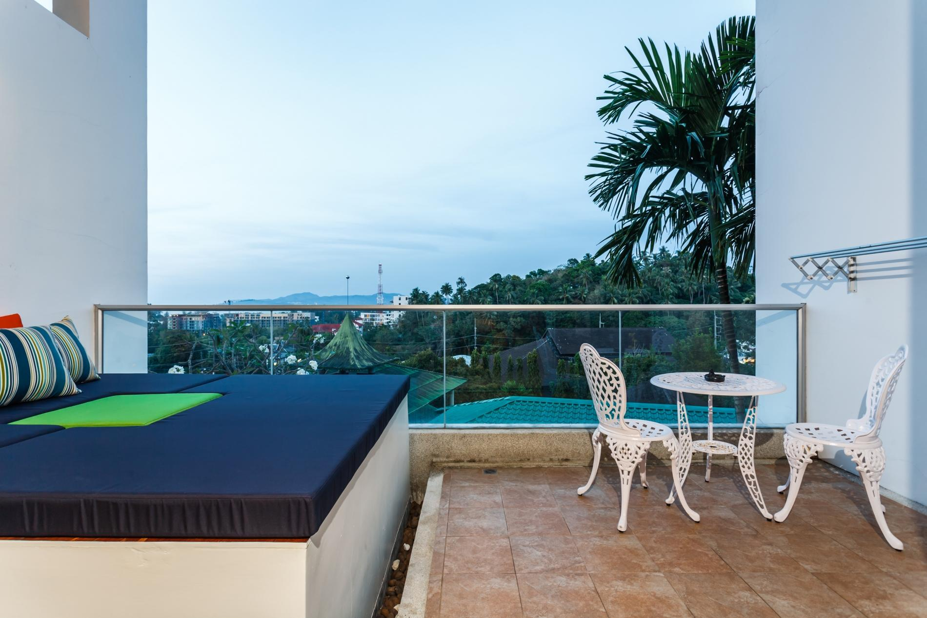 Apartment The Quarter 408 - Seaview Duplex in Surin with patio and shared pool photo 16835764