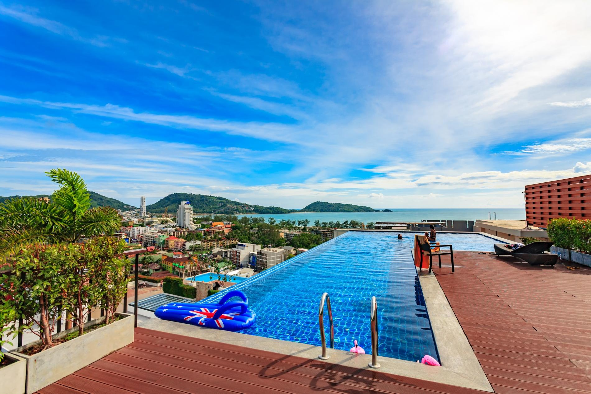 Apartment U606 - Convenient Patong apartment for 3 people with pool and gym  photo 19298778