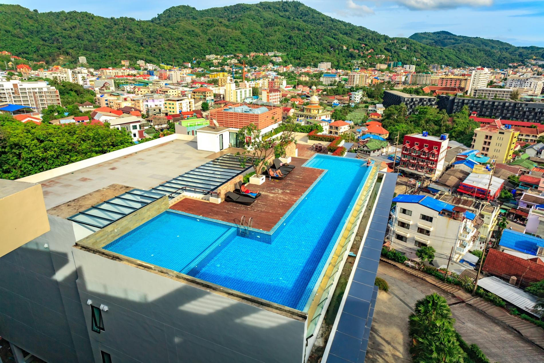 Apartment U606 - Convenient Patong apartment for 3 people with pool and gym  photo 19255682