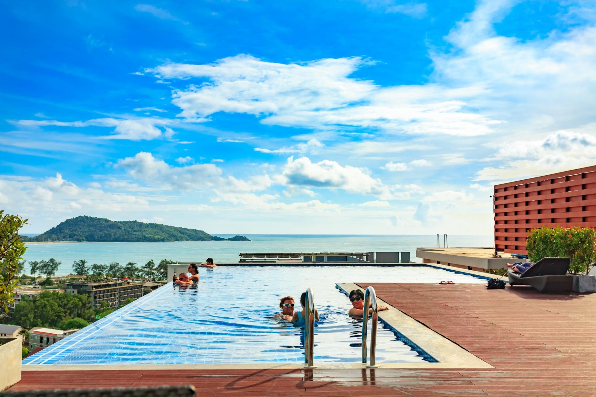 Apartment U606 - Convenient Patong apartment for 3 people with pool and gym  photo 16398550