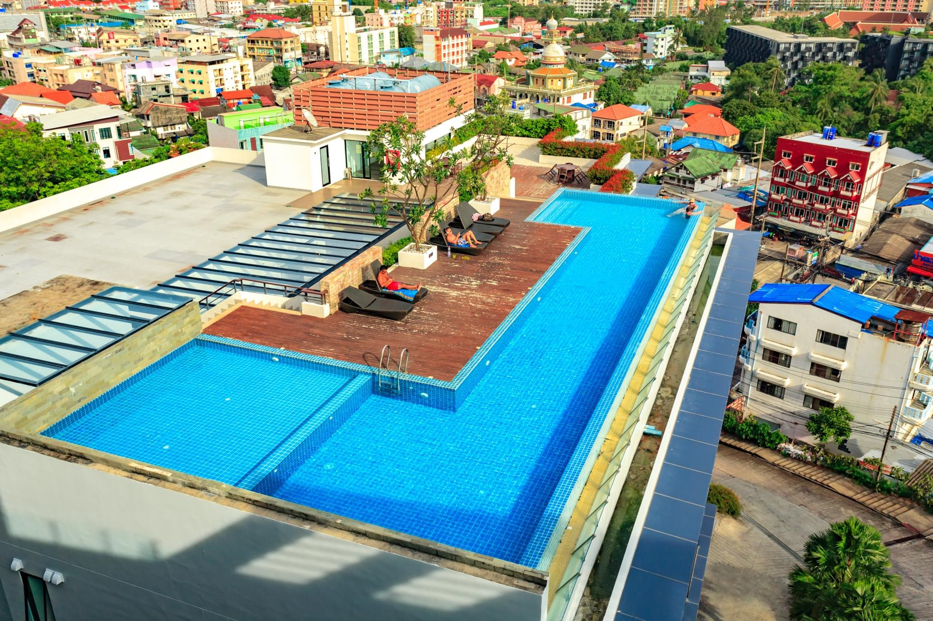 Apartment U606 - Convenient Patong apartment for 3 people with pool and gym  photo 19403166