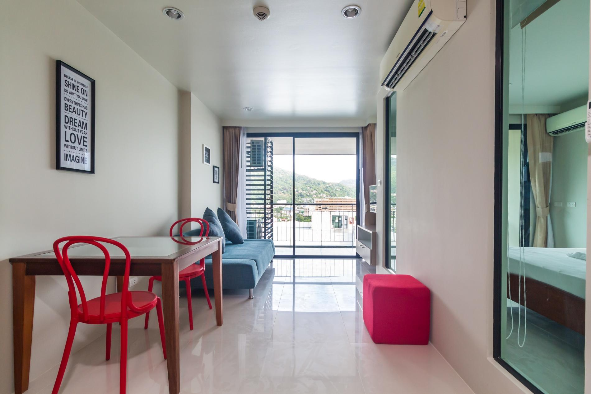Apartment U606 - Convenient Patong apartment for 3 people with pool and gym  photo 19373971