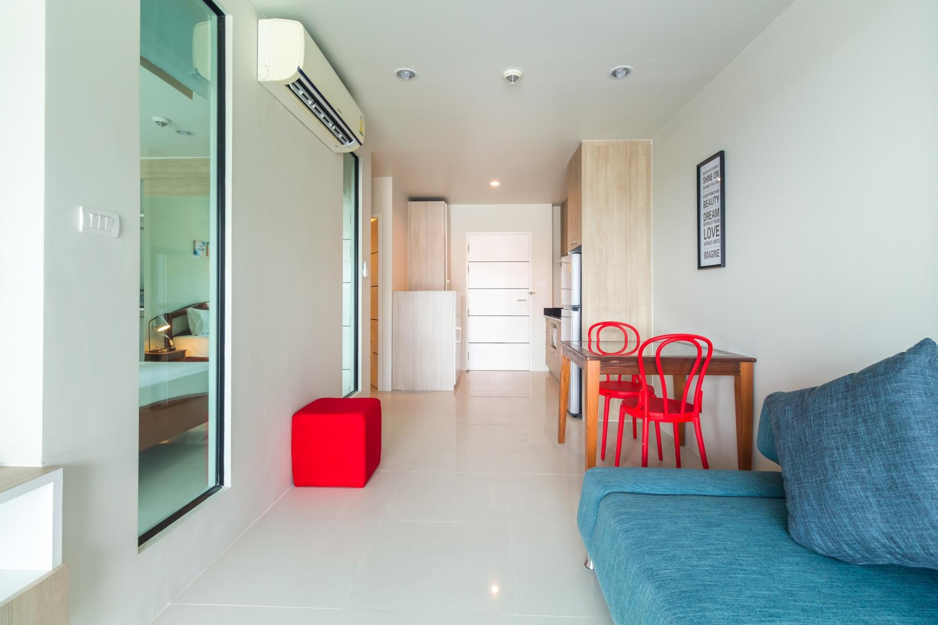 Apartment U606 - Convenient Patong apartment for 3 people with pool and gym  photo 19427941