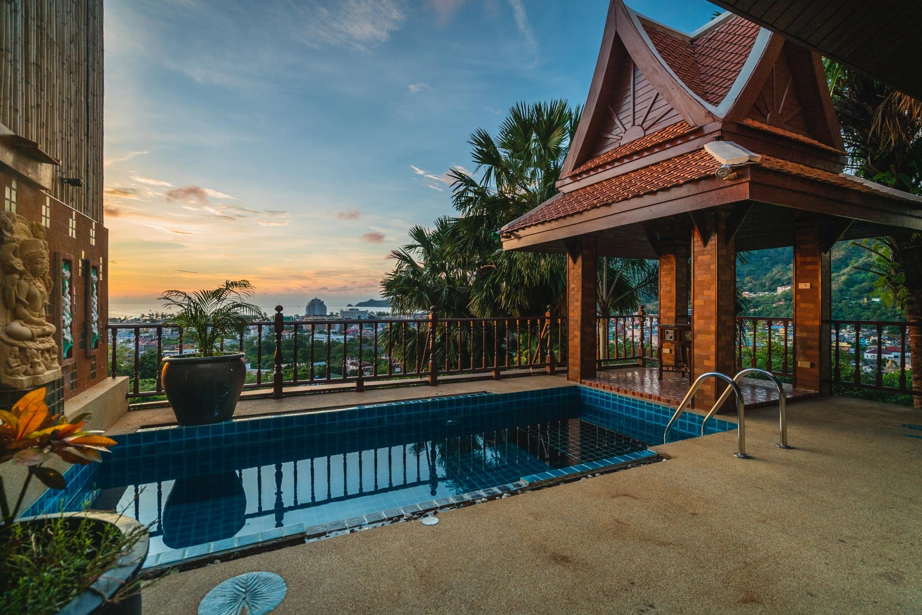 Apartment 50pee - Seaview pool villa in Patong  boxing bag  foosball table  darts and fun  photo 20176595