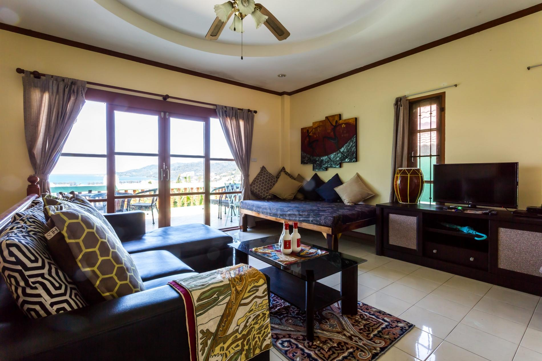 Apartment Vista Villa 1 - Seaview private pool villa in Patong for 9 people  photo 18444404