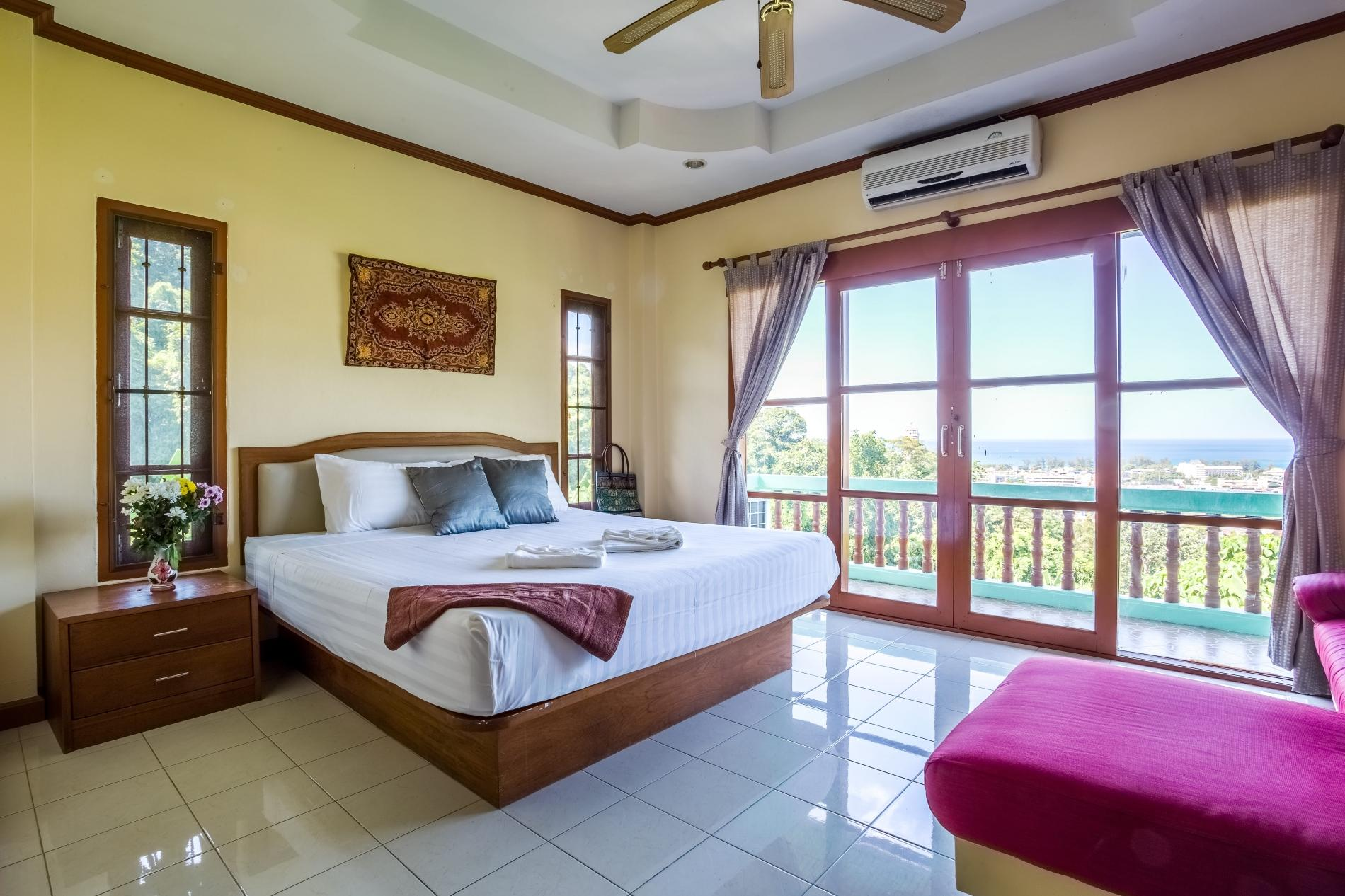 Apartment Vista Villa 1 - Seaview private pool villa in Patong for 9 people  photo 18253241