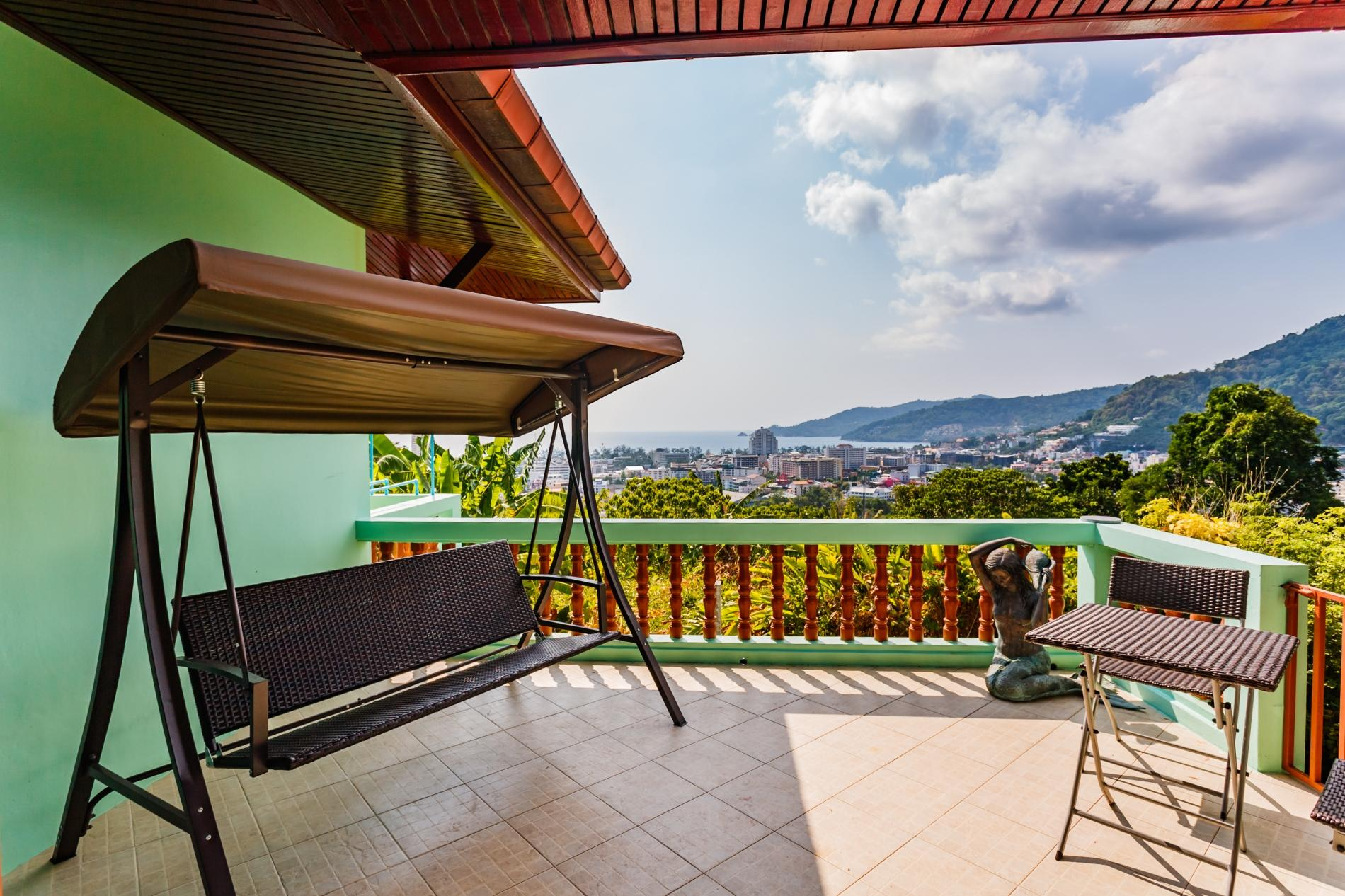 Vista Villa 2 - Sea view Patong house for 4 guests in quiet neighbourhood photo 13921736