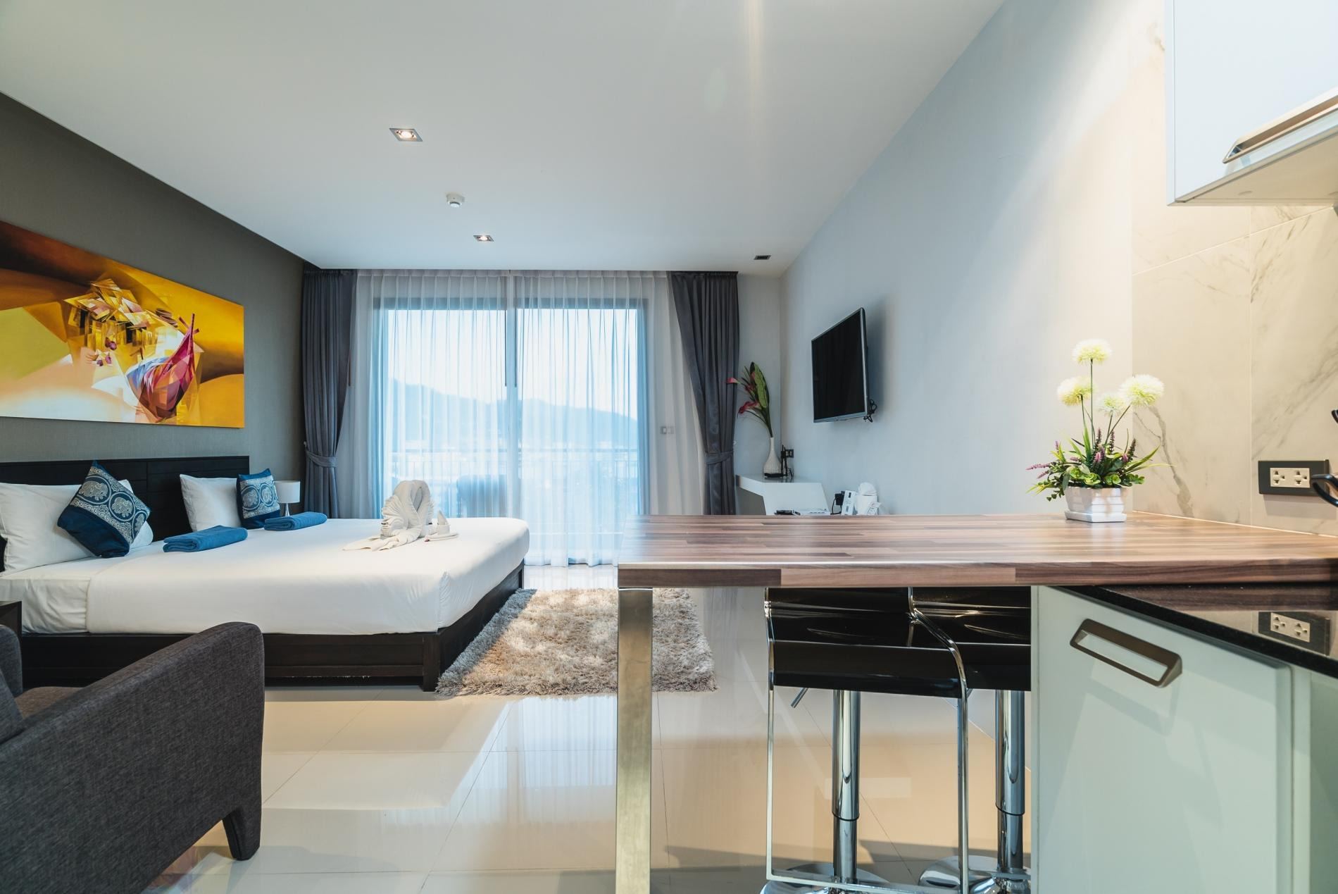 Apartment ET307 - Patong studio for 2 with pool and gym  photo 18545422