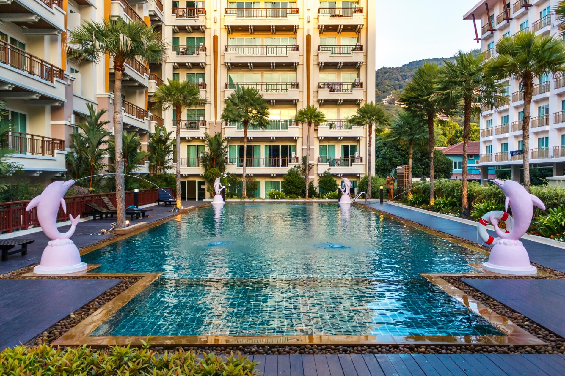 PV60 - 1 bedroom apartment in the best Patong location, with pool & gym! photo 13763865