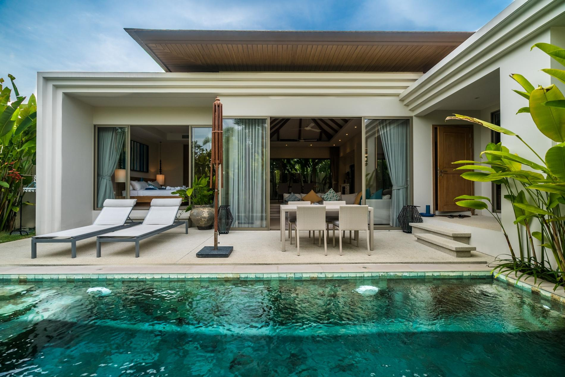 Apartment Trichada 18 - Private pool modern 3 bedroom villa photo 18534013