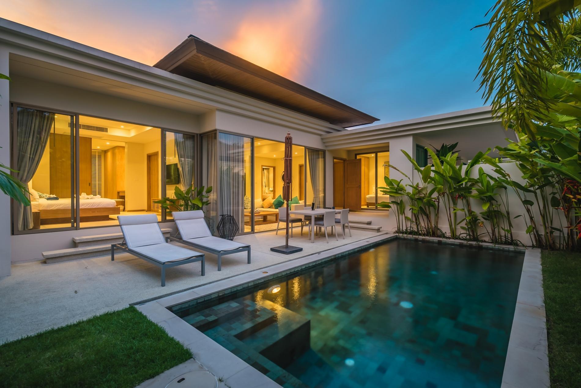 Apartment Trichada 18 - Private pool modern 3 bedroom villa photo 18547938