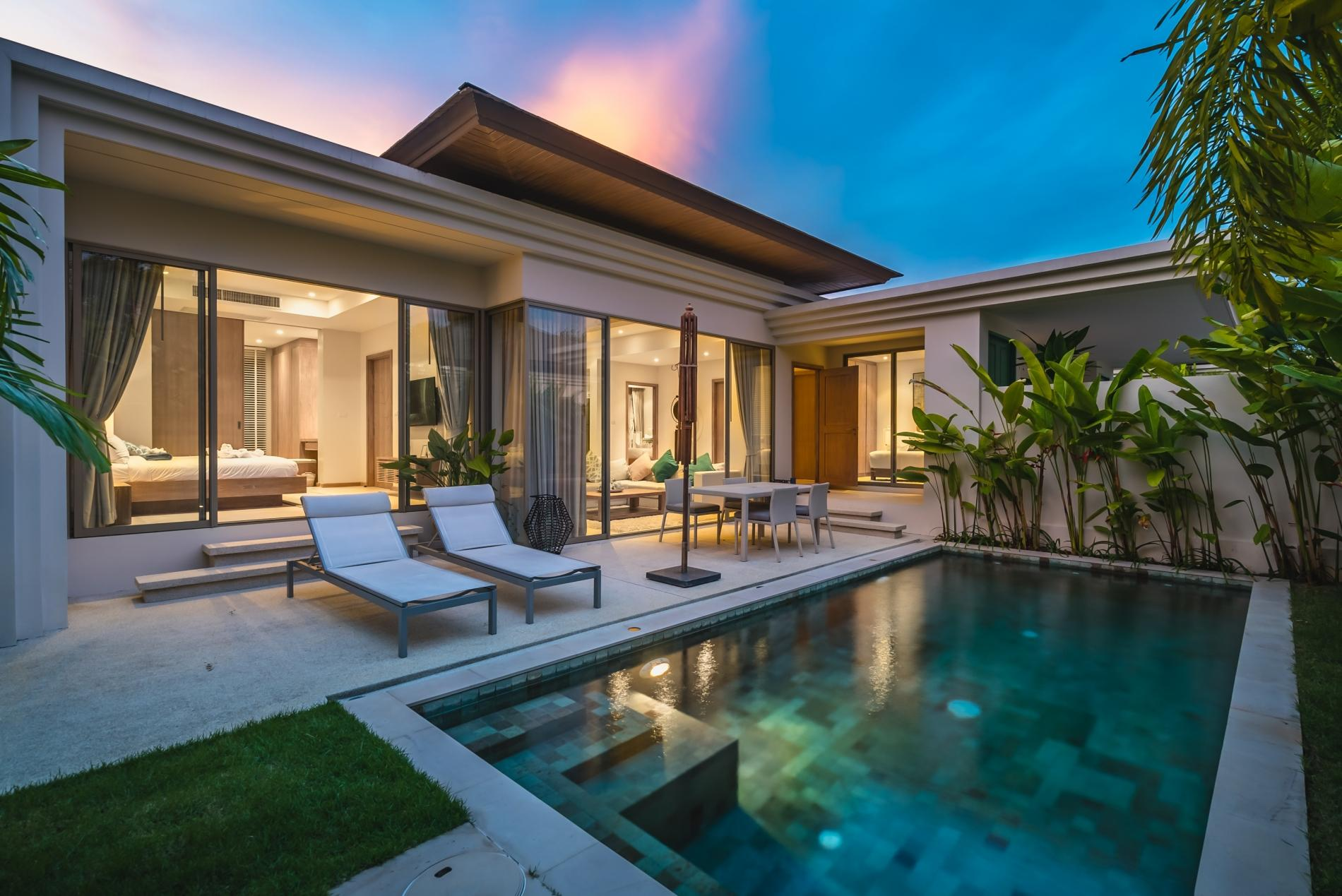 Apartment Trichada 18 - Private pool modern 3 bedroom villa photo 18344797