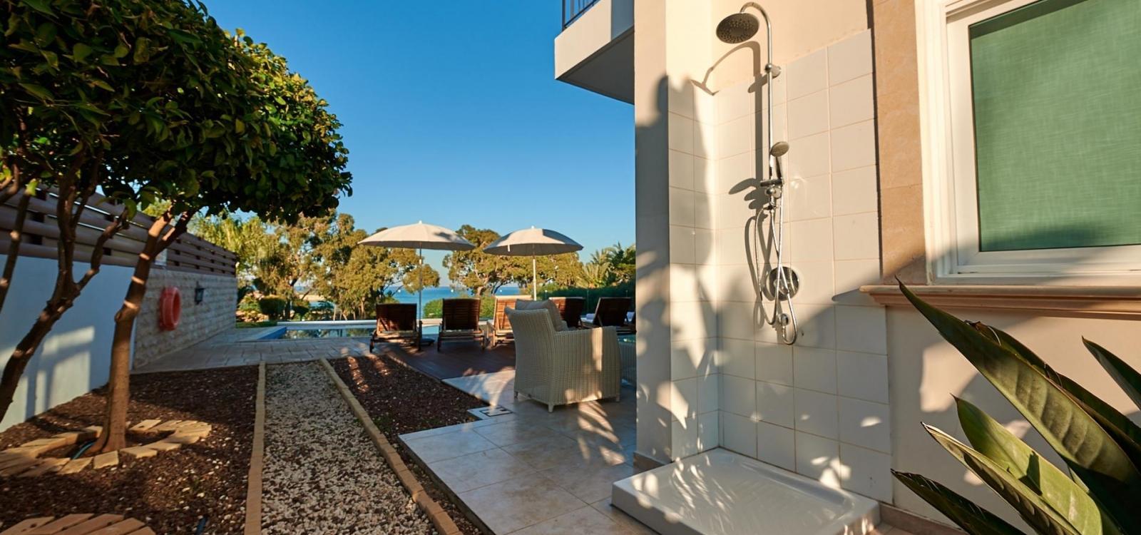 Villa Bella Vista   Beach Front Private Villa in Protaras   Private Pool