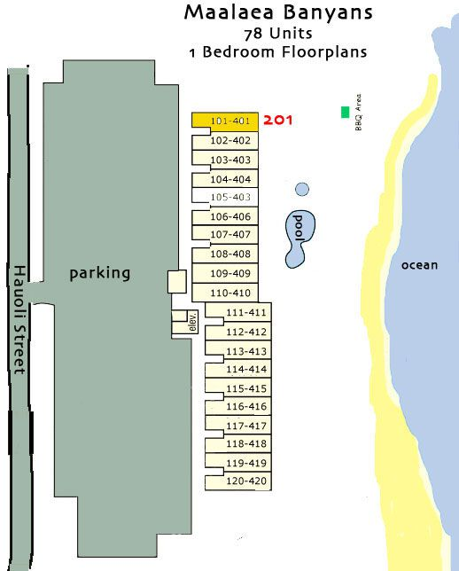 Resort site map